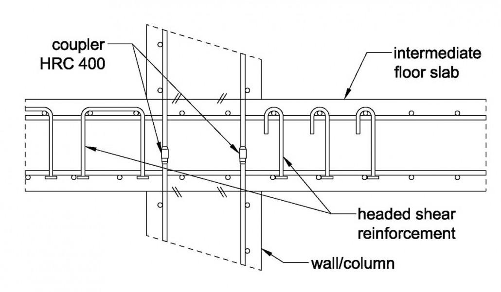 Applications - Intermediate floor slab / HRC Europe