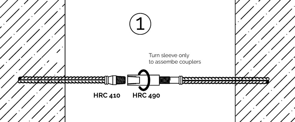 HRC 410 and HRC 490 Block out position coupler
