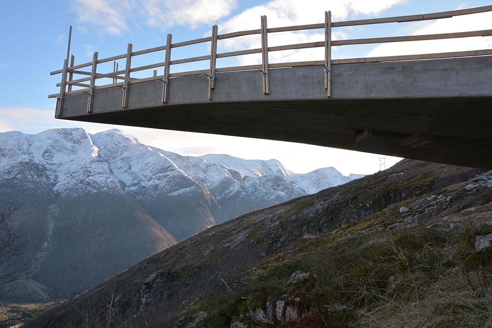 Utsikten Gaularfjell Foto: CODE arkitektur
