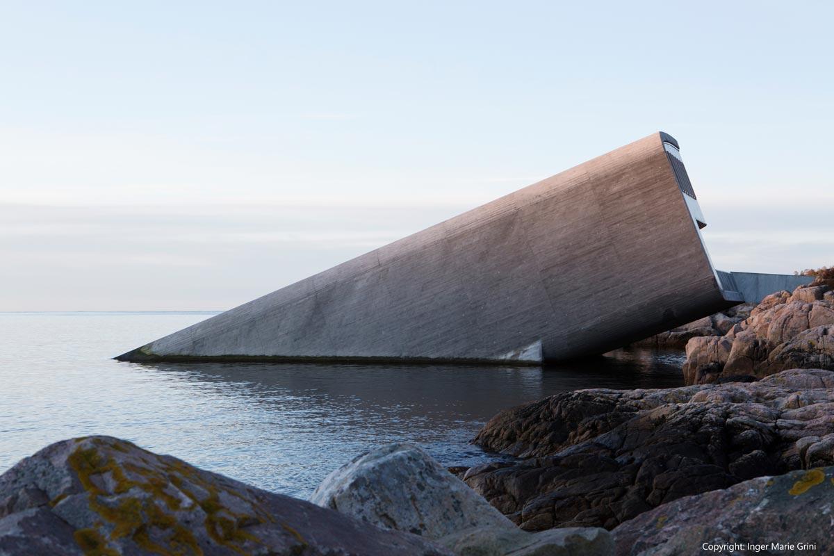 HRC Europe / Under – Underwater restaurant - copyright Inger Marie Grini